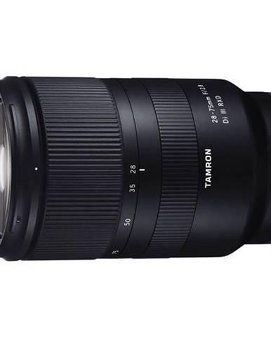 Objektív Tamron 28-75 mm F/2.8 Di III RXD pre Sony E čierny