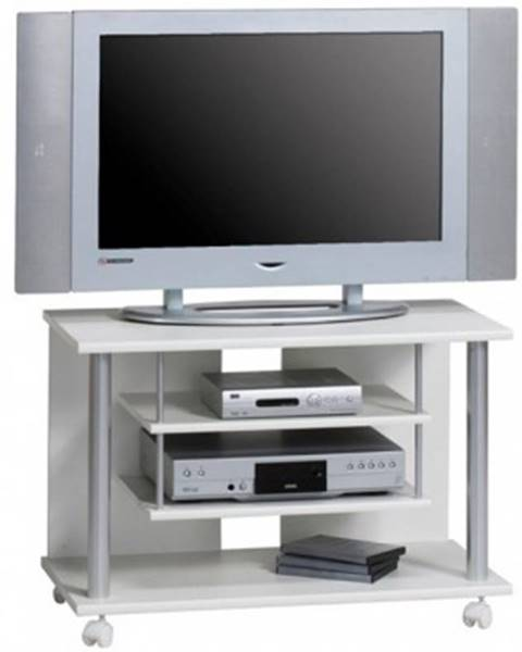 ASKO - NÁBYTOK TV stolík Typ 1898, biely%