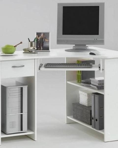 ASKO - NÁBYTOK PC stôl Felix 1, biely%