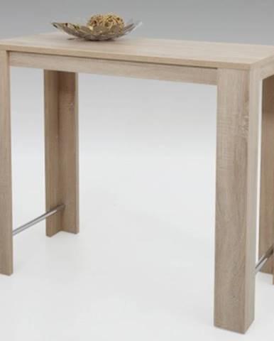 Barový stôl Frieda 120x58 cm, dub sonoma%