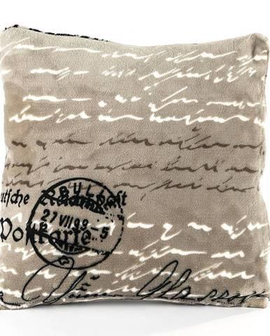 Jahu Vankúšik Mikroplyš Postcard, 40 x 40 cm