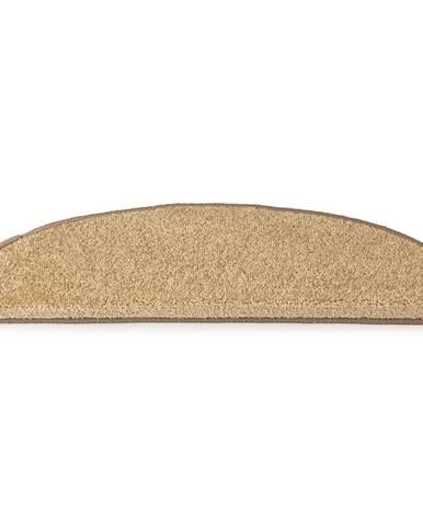 Vopi Kobercové nášľapy na schody Eton 24 x 65 cm - Béžová