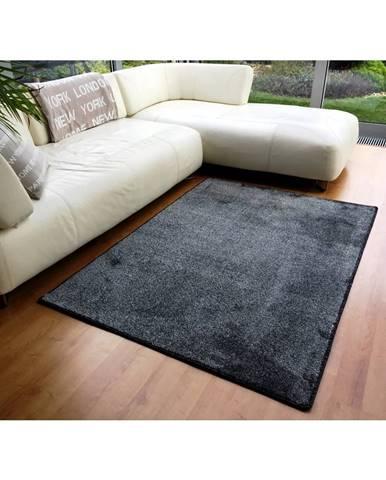 Vopi Kusový koberec Apollo soft antracit, 60 x 110 cm