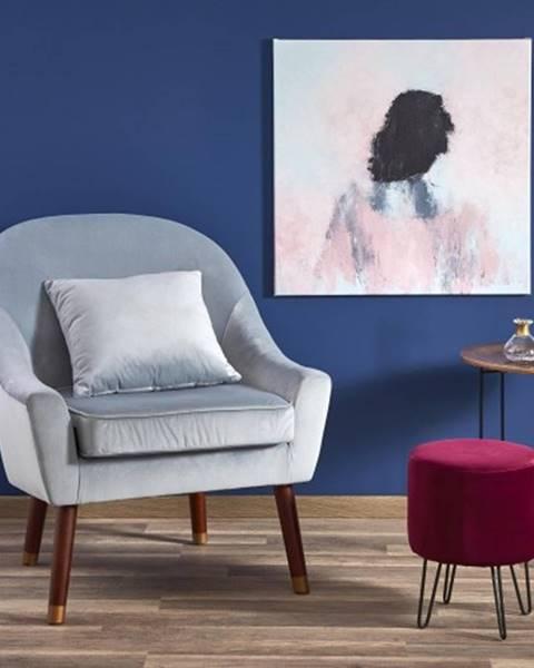 OKAY nábytok Kreslo Opale sivá