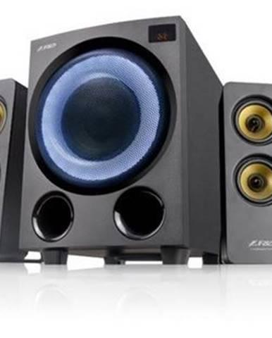 Reproduktory Fenda F&D F7700X, 4.1, 80W, RGB, BT 5.0, čierna