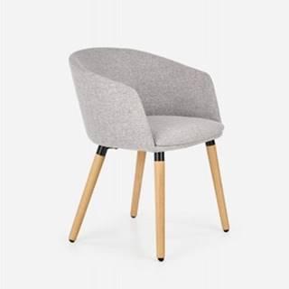 Jedálenská stolička K266 sivá