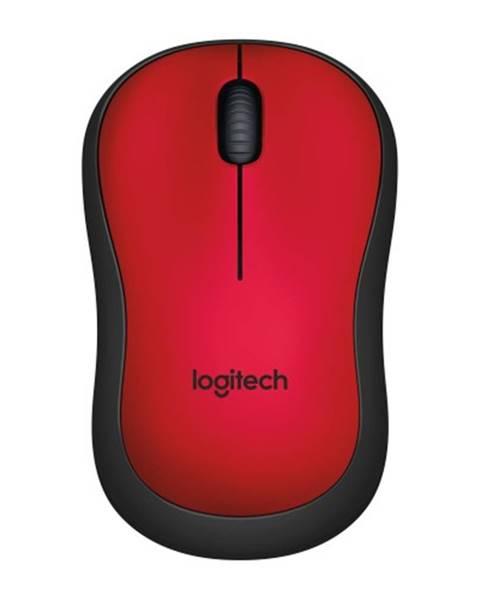 Logitech Logitech M220 Silent Mofor Wireless, červená