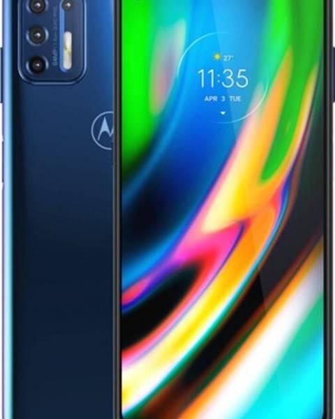 Motorola Mobilný telefón Motorola G9 Plus 4GB/128GB, modrá