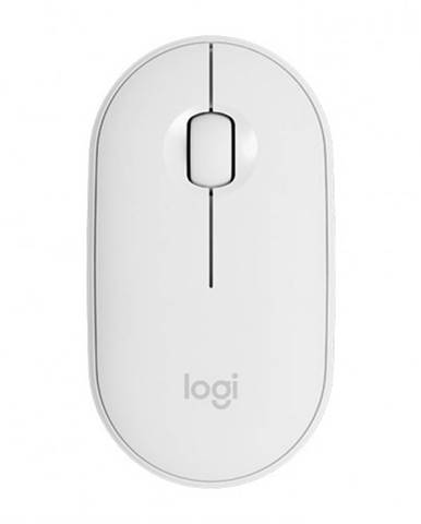 Bezdrôtová myš Logitech M350, biela