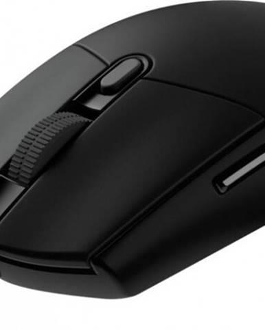 Herná myš LOGITECH G102 LIGHTSYNC, odozva 1 ms, čierna