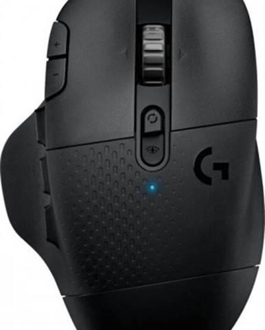 Herná myš Logitech G604 Lightspeed, bezdrôtová, čierna