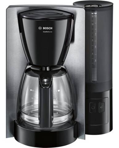 Kávovar Bosch TKA6A643, nerez/čierna
