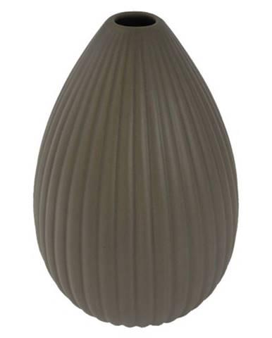 Keramická váza VK36 hnedá matná