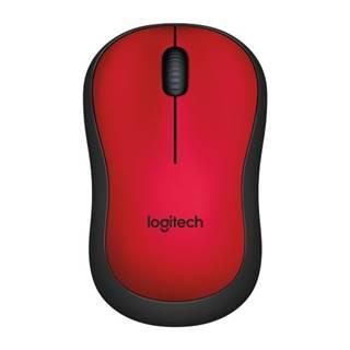 Logitech M220 Silent Mofor Wireless, červená