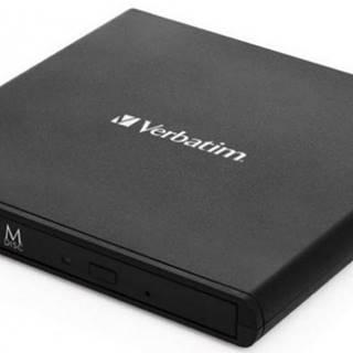 VERBATIM Externá CD / DVD Slimline mechanika USB 2.0 + Nero