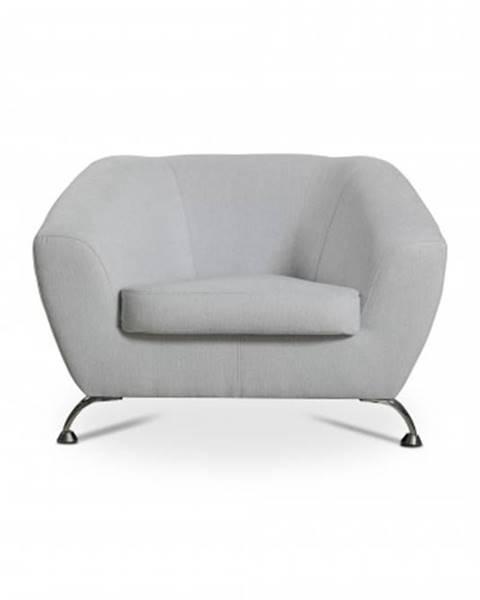 OKAY nábytok Moderné kreslo Lira sivá