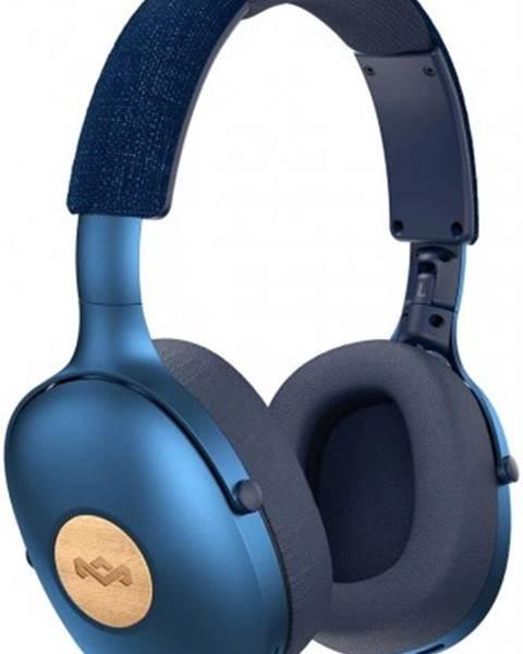 Marley Bezdrôtové slúchadlá Marley Positive Vibration XL, modré