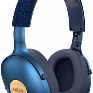 Bezdrôtové slúchadlá Marley Positive Vibration XL, modré