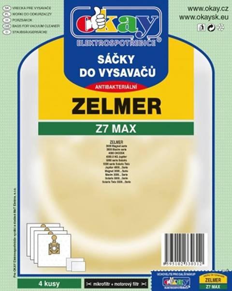 Jolly Vrecká do vysávača Zelmer Z7 MAX, 8ks