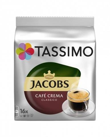 Kapsule Tassimo Jacobs Caffe Crema, 16 ks