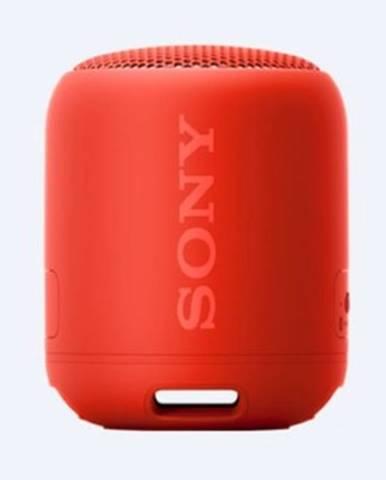 Prenosný reproduktor Sony SRS-XB12, červený