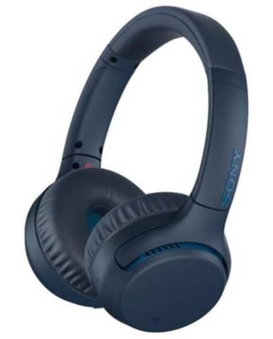 Slúchadlá cez hlavu Sony WH-XB700, modrá