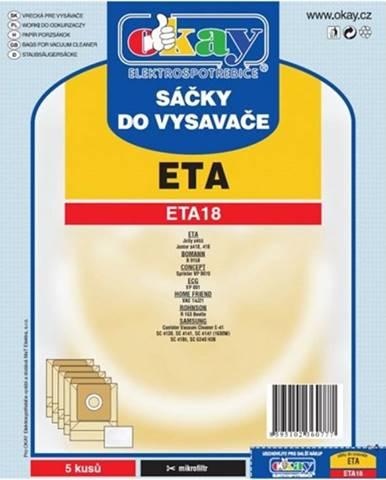 Vrecká do vysávača Eta ETA 18, 10ks