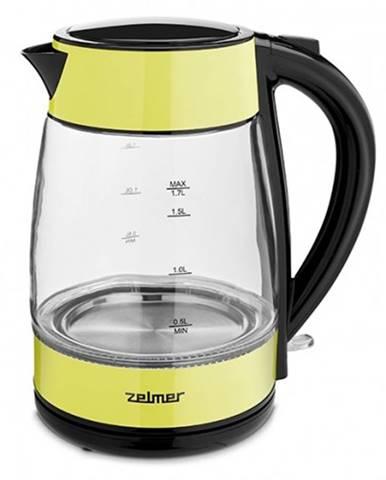 Rýchlovarná kanvica Zelmer ZCK8011L, sklo, 1,7l