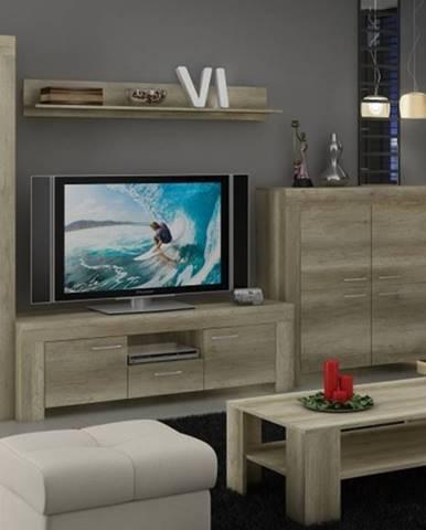 Sky - Obývacia stena, komoda, stolík, svetlo