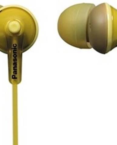 Slúchadlá do uší Panasonic RP-HJE125E-Y, žlté