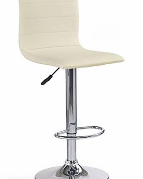 OKAY nábytok Barová stolička H21, krém
