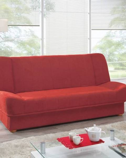 OKAY nábytok Rozkladacia pohovka Sára červená ÚP