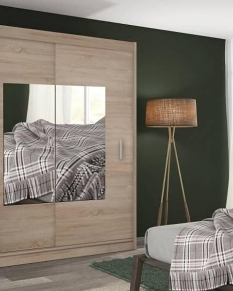 OKAY nábytok Šatníková skriňa Eira - 180x215x61