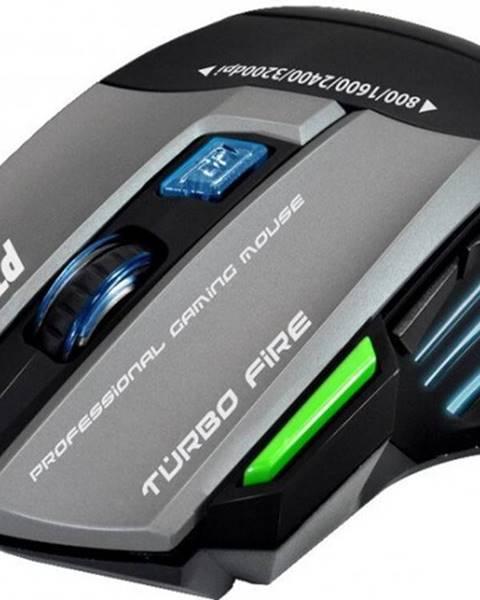 Evolveo Herná myš EVOLVEO Ptero GMX90, 3200dpi, RGB podsvietenie + Zdarma podložka Olpran