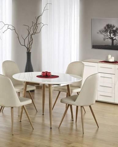 Jedálenský stôl Edward rozkladací 120-200x100 cm