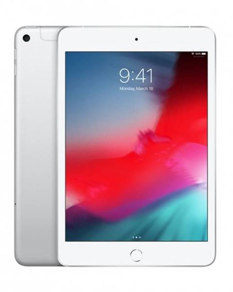 Apple Apple iPad mini Wi-Fi + Cellular 64GB - Silver, MUX62FD/A