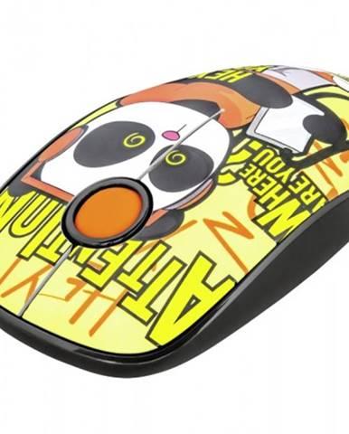 Bezdrôtová myš Trust Sketch, žltá + Zdarma podložka Olpran