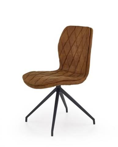Jedálenská stolička K237 hnedá