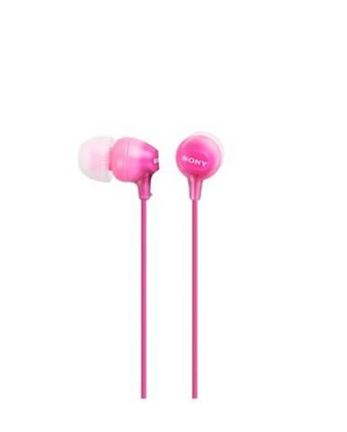 Sony Slúchadlá MDR-EX15AP ružová
