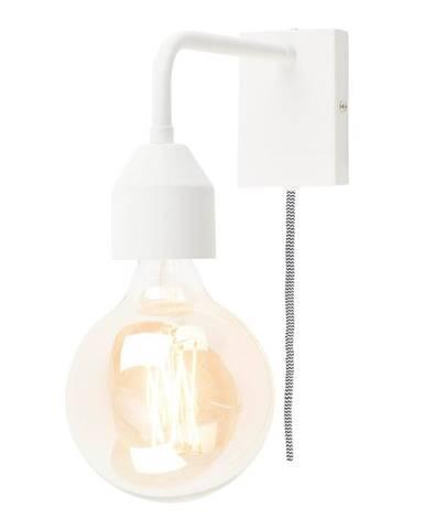 Biela nástenná lampa Citylights Madrid