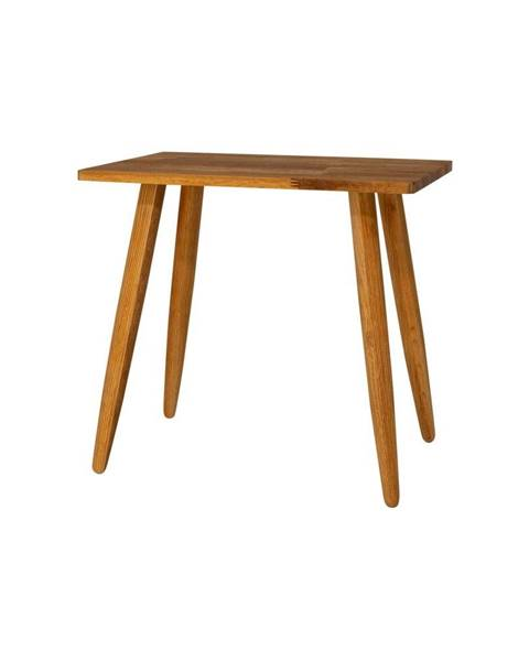 Canett Stolička z masívneho dubového dreva Canett Uno