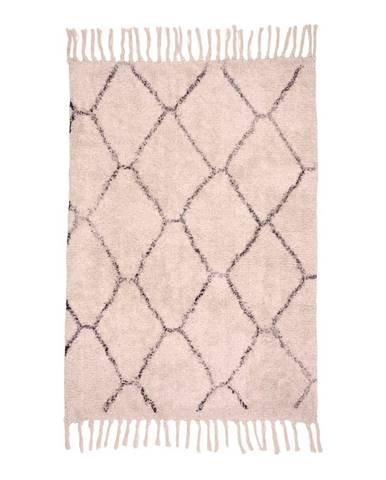Bavlnený koberec HoNordic Goa, 90×60 cm