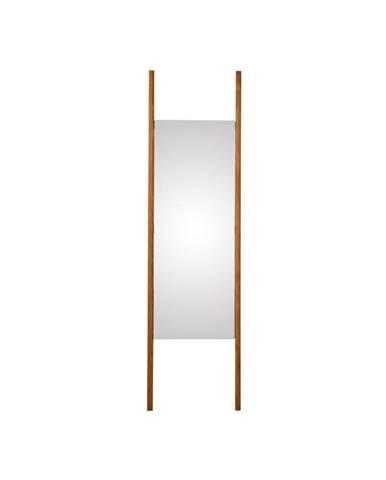 Nástenné zrkadlo z masívneho dubového dreva Canett Uno, 46,6×170 cm