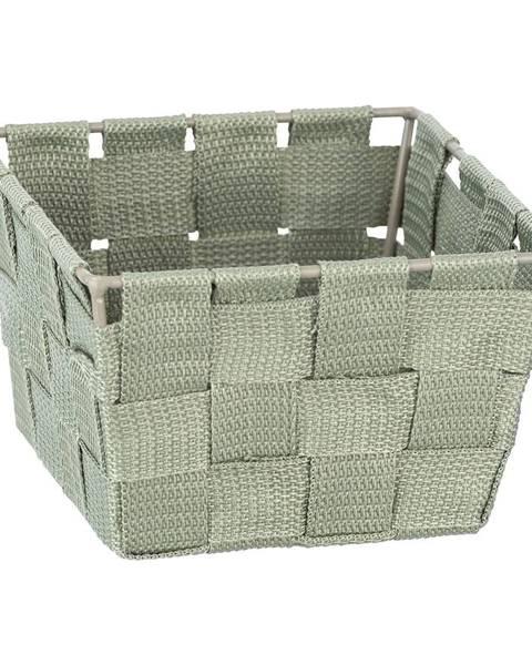 Wenko Zelený úložný box Wenko Adria, 14 x 14 cm