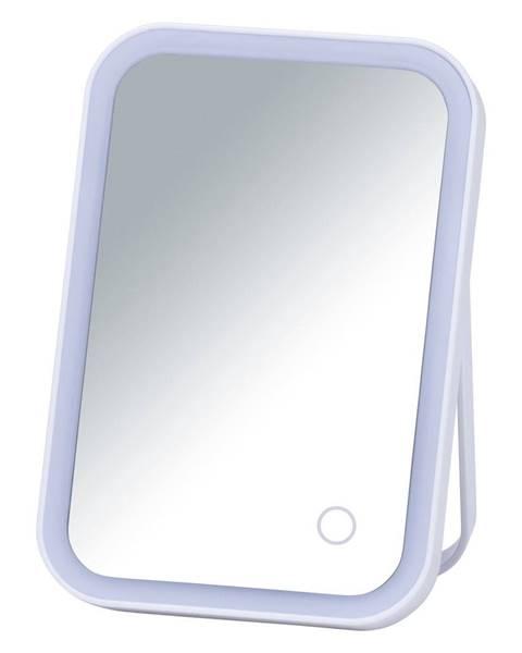 Wenko Biele kozmetické zrkadlo s LED podsvietením Wenko Arizona