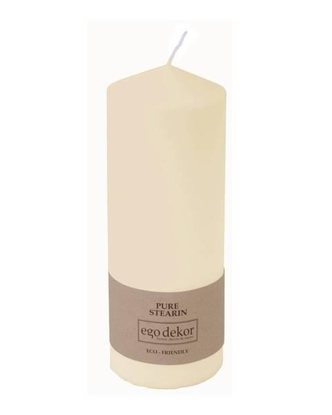 Baltic candles Smotanovobiela sviečka Eco candles by Ego dekor Top, doba horenia 50 h