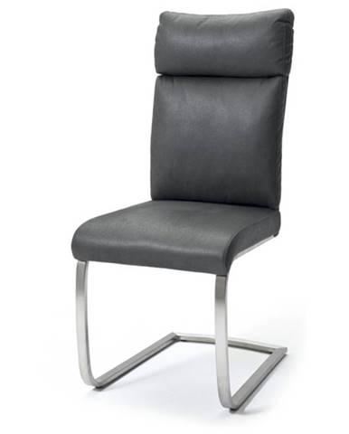 Jedálenská stolička RILEY sivá