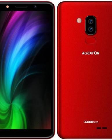 Mobilný telefón Aligator S6000 Dual SIM červený