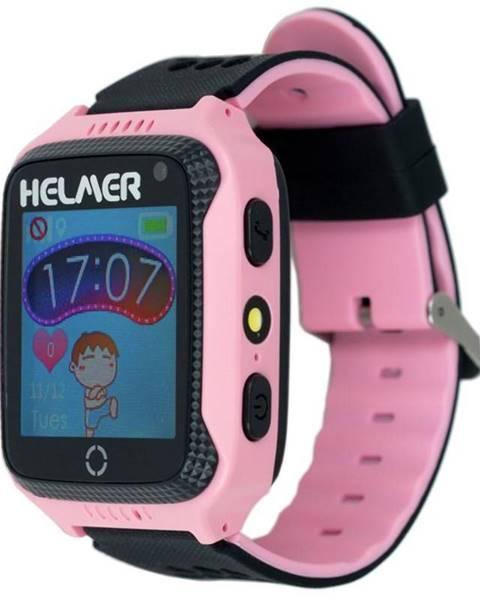 Helmer Inteligentné hodinky Helmer LK 707 dětské s GPS lokátorem ružový