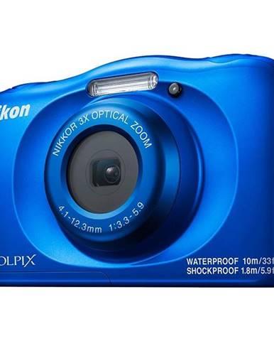 Digitálny fotoaparát Nikon Coolpix  W150 Backpack KIT modr